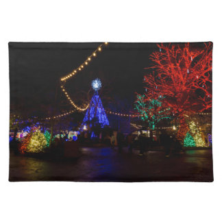 Christmas Lights Galore Placemat
