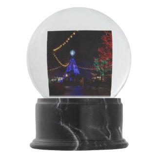 Christmas Lights Galore Snow Globe