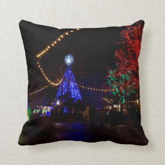 Christmas Lights Galore Throw Pillow