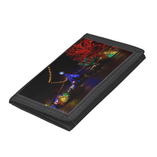 Christmas Lights Galore Trifold Wallets