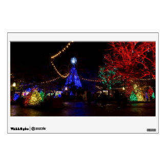 Christmas Lights Galore Wall Sticker