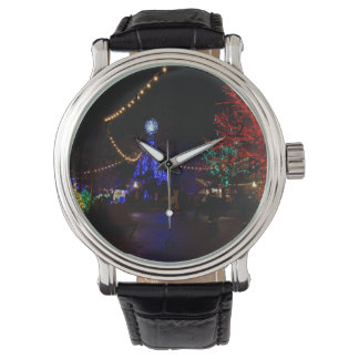 Christmas Lights Galore Wristwatch
