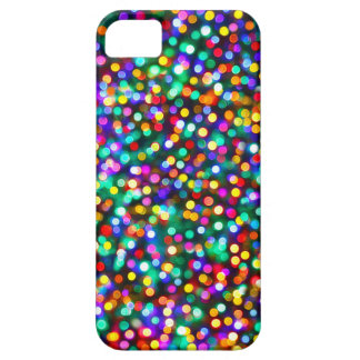 Christmas Lights Pattern iPhone 5 Case