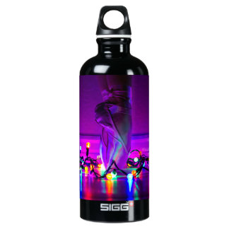 Christmas Lights & Pointe Shoes Water Bottle