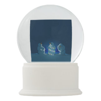 Christmas Lights Snow Globe
