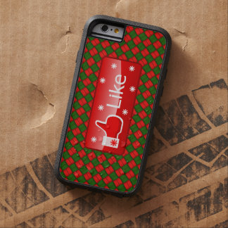 Christmas Like Button Tough Xtreme iPhone 6 Case