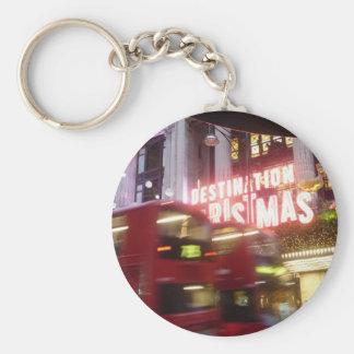 Christmas - London Destination Christmas Oxford St Keychain
