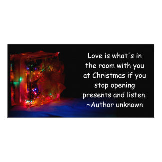 Christmas Love Picture Card