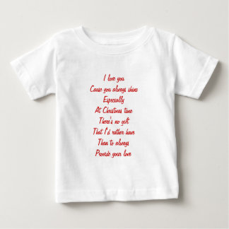 Christmas love t shirt