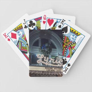 Christmas Lyric Bicycle Playing Cards