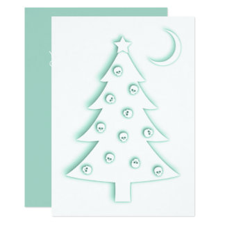Christmas Macabre Tree Card
