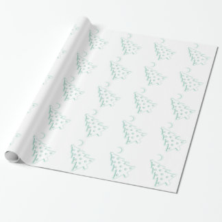 Christmas Macabre Tree Wrapping Paper