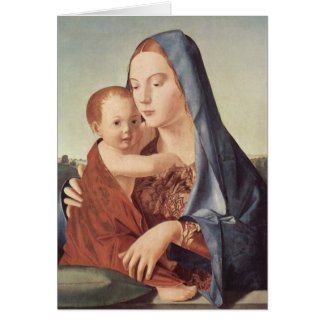 Christmas - Madonna - Antonello da Messina Card