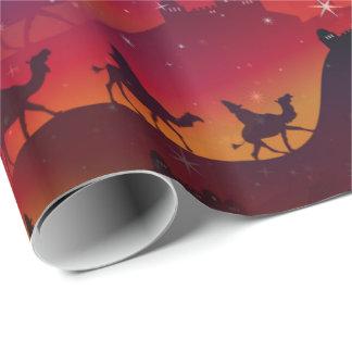 Christmas Magi Wrapping Paper