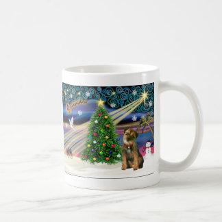 Christmas Magic Border Terrier Coffee Mug
