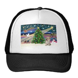 Christmas Magic Cairn Terrier (Wheaten) Trucker Hat