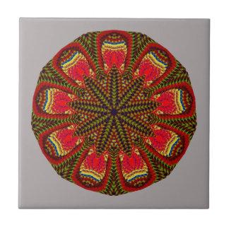 Christmas Magic Mandala Tile