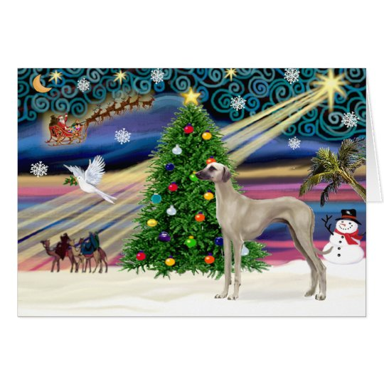 Christmas Magic Sloughi (stand) Card