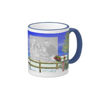 Christmas Mail 2-Photo Frame Mugs