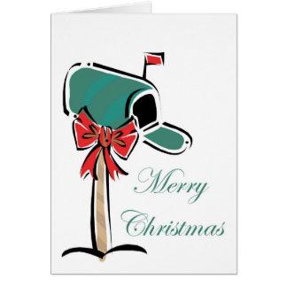 Christmas Mailbox Card
