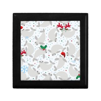 christmas manatee gift box