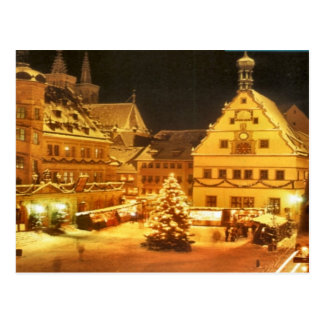 Christmas market in Germany Postcard