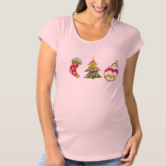christmas maternity T-Shirt