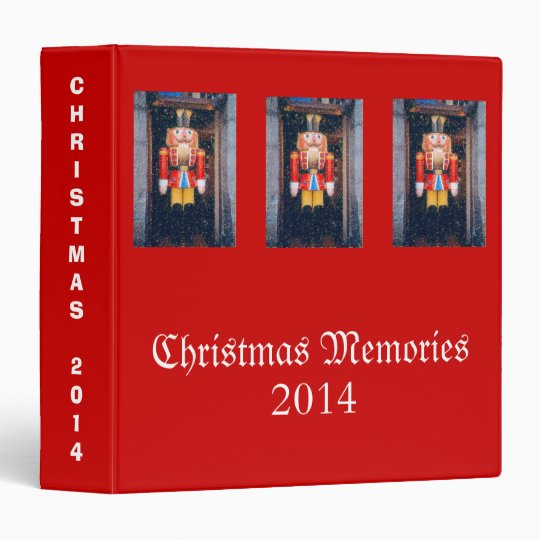 CHRISTMAS MEMORIES BINDER 2014 NUTCRACKER THEME