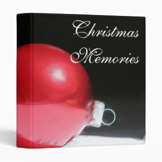 Christmas memories ornament Avery Binder