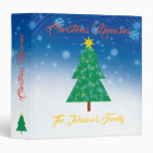 Christmas Memories | The Johnson's Family 3 Ring Binder