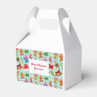 Christmas, Merry Christmas Favor Box