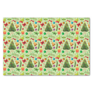 Christmas, Merry Christmas Tissue Paper