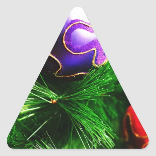 Christmas Merry Holiday Tree Ornaments celebration Stickers