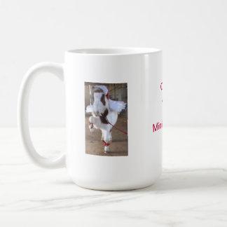 Christmas mini horse Santa hat / Angel Coffee Mug