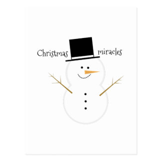 Christmas Miracles Post Cards