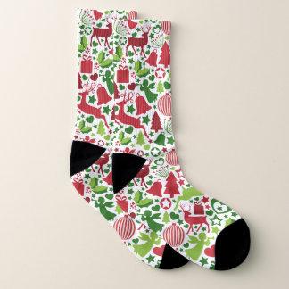 Christmas Montage All-Over-Print Socks 1