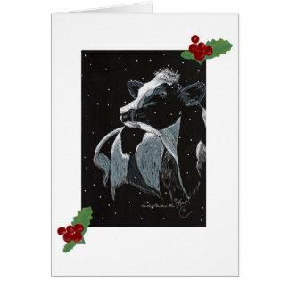 Christmas Moo Card