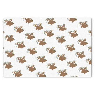Christmas Moose Country Tissue Paper