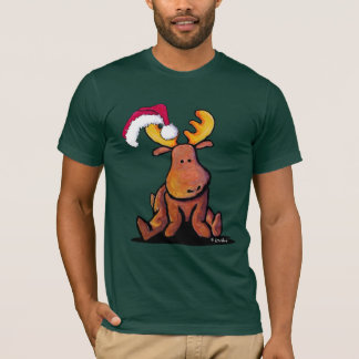 Christmas Moose T-Shirt