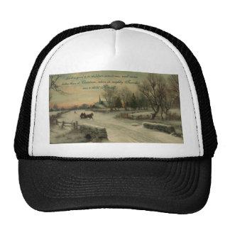 Christmas Morn - Hat #1