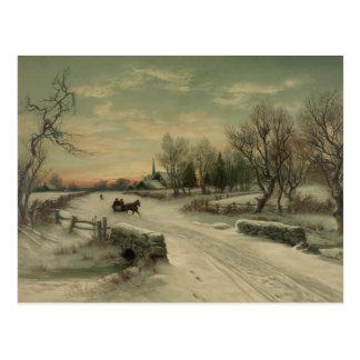 Christmas Morn - Postcard #2