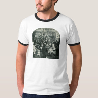 Christmas Morning - Vintage Stereoview T-Shirt