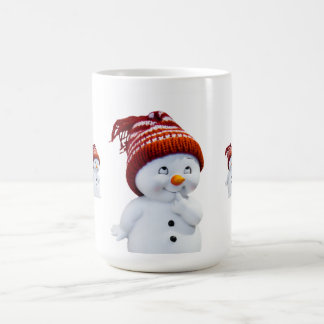 Christmas Morphing Mug/Snowman Magic Mug