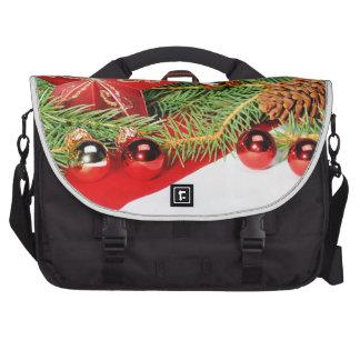 Christmas motive bag for laptop