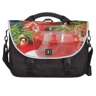 Christmas motive computer bag