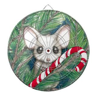 Christmas Mouse Dartboard