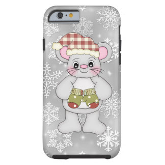 Christmas mouse iphone six tough case