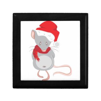 Christmas Mouse Jewelry Box