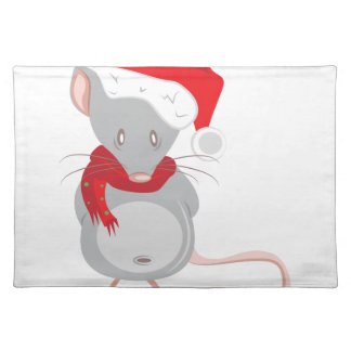 Christmas Mouse Placemat