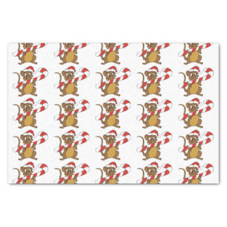 Christmas Mouse Tissue Paper
